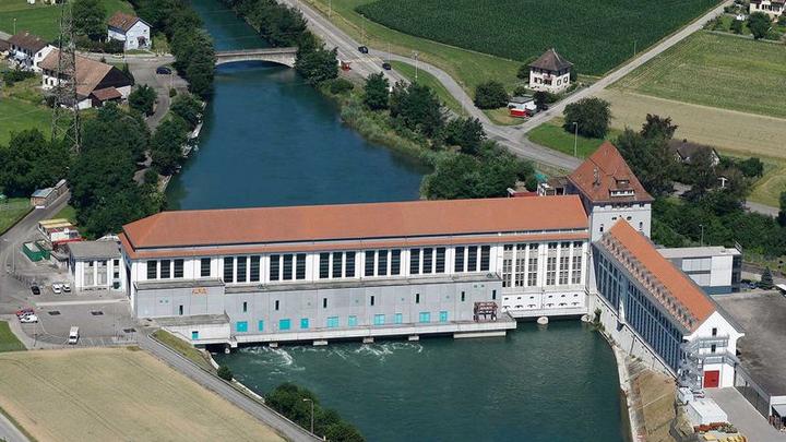 Beim Wasserkraftwerk Gösgen planen Alpiq und H2Energy die erste Anlage der Schweiz zur Produktion von Wasserstoff im kommerziellen Betrieb.