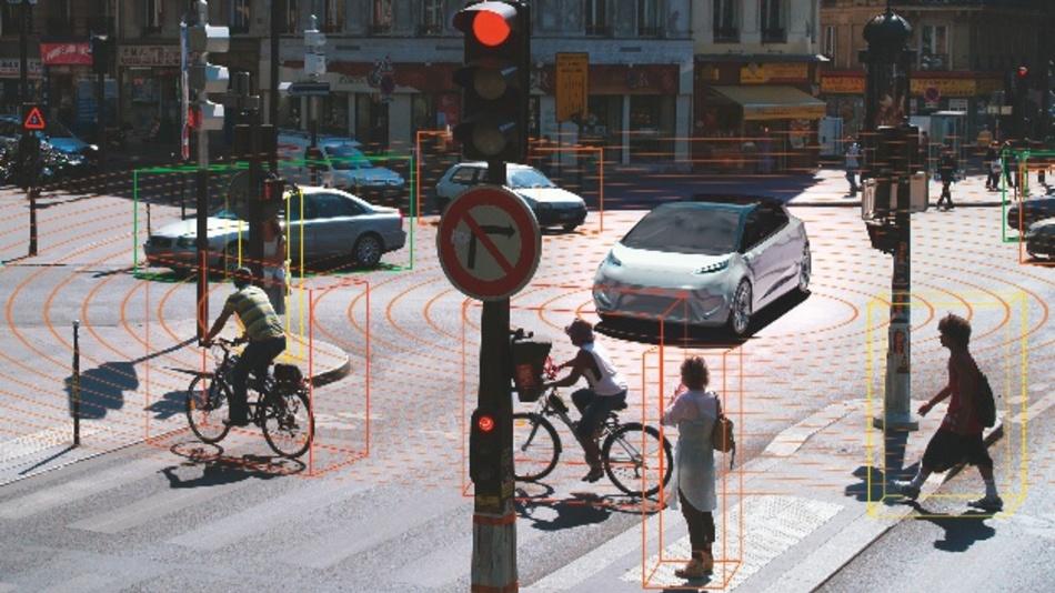 LiDAR-Systeme sind in der Lage, ein sehr genaues, dreidimensionales Bild der Fahrzeugumgebung zu generieren
