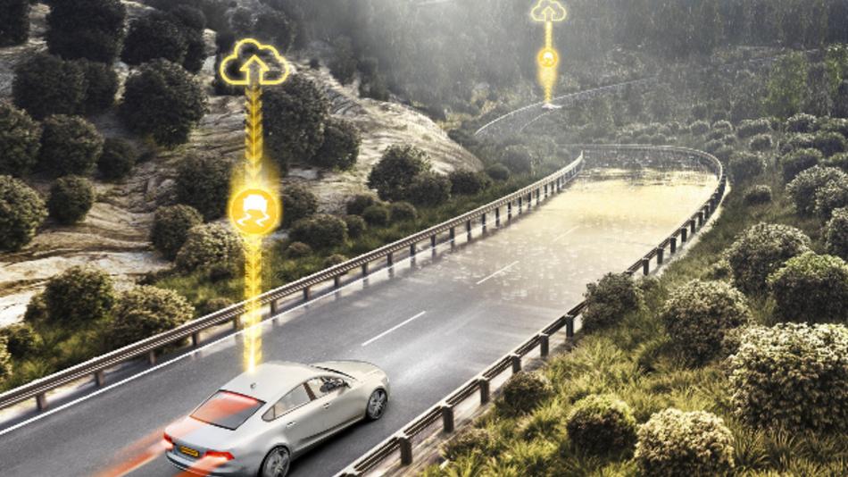 PreviewESC passt durch leichtes Einbremsen automatisch die Geschwindigkeit an.