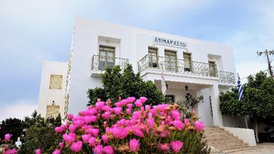 Das Rathaus von Kythnos