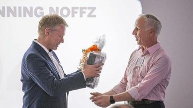 Klaus-Henning Noffz (links) und Dietmar Ley (rechts)