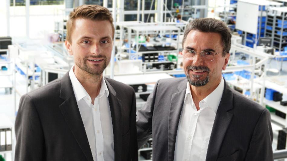 Thorsten Wanner mit seinem Vater Dr. Theodor Wanner
