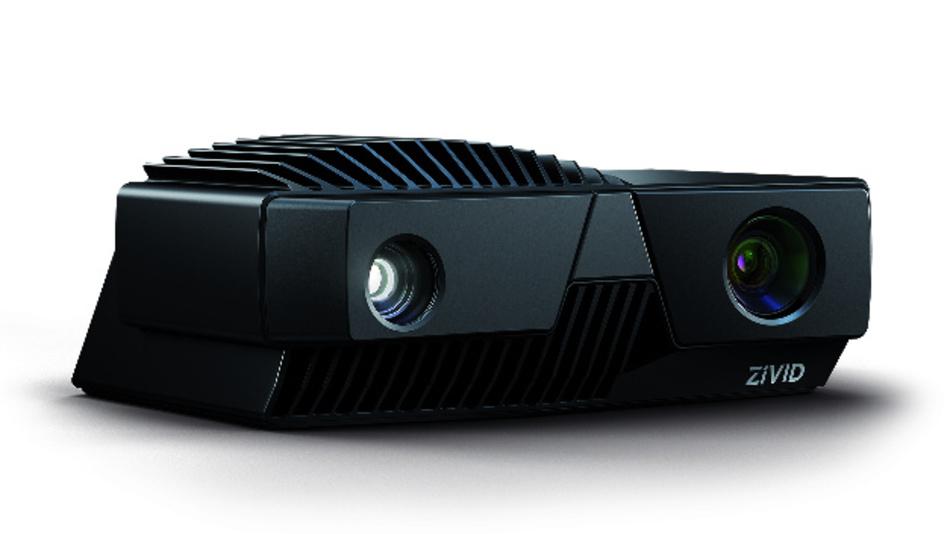 Mit strukturierter Lichtprojektion nach einem Zeitmultiplex-Verfahren arbeiten die 3D-Kameras der Serie »Zivid One+« von Zivid.