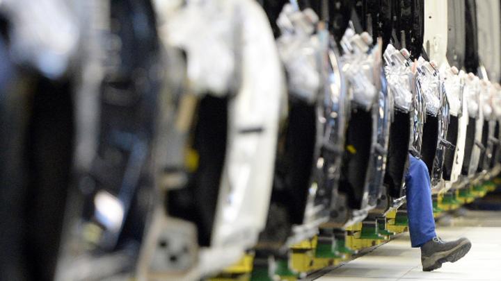 Produktion im Mercedes-Benz Werk