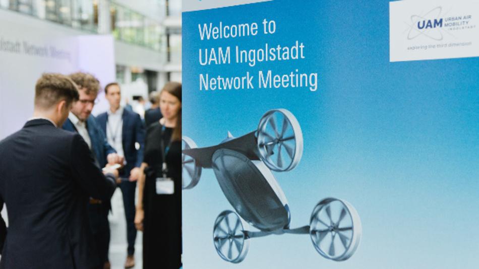 Rohde & Schwarz engagiert sich mit Partnern der UAM-Initiative Ingolstadt für die Sicherheit im Bereich Urban Air Mobility.