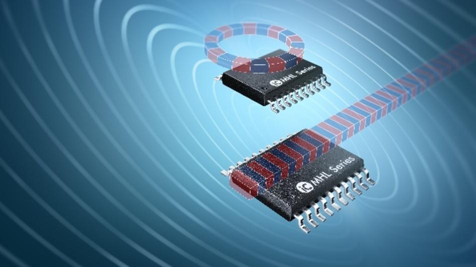 Der iC-MHL100 von IC-Haus eignet sich für inkrementelle Linear- bzw. Winkelencoder aller Art. Zusätzlich benötigt wird hierfür nur eine Maßverkörperung in Form eines magnetisierten Bandes oder Polrades.