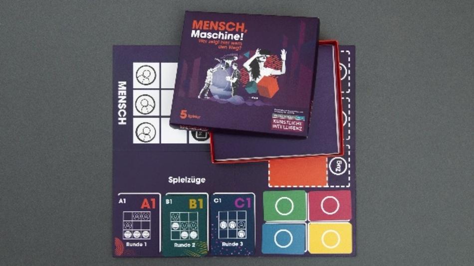 """Spiel """"Mensch, Maschine!"""" der Jugendaktion im Wissenschaftsjahr 2019"""