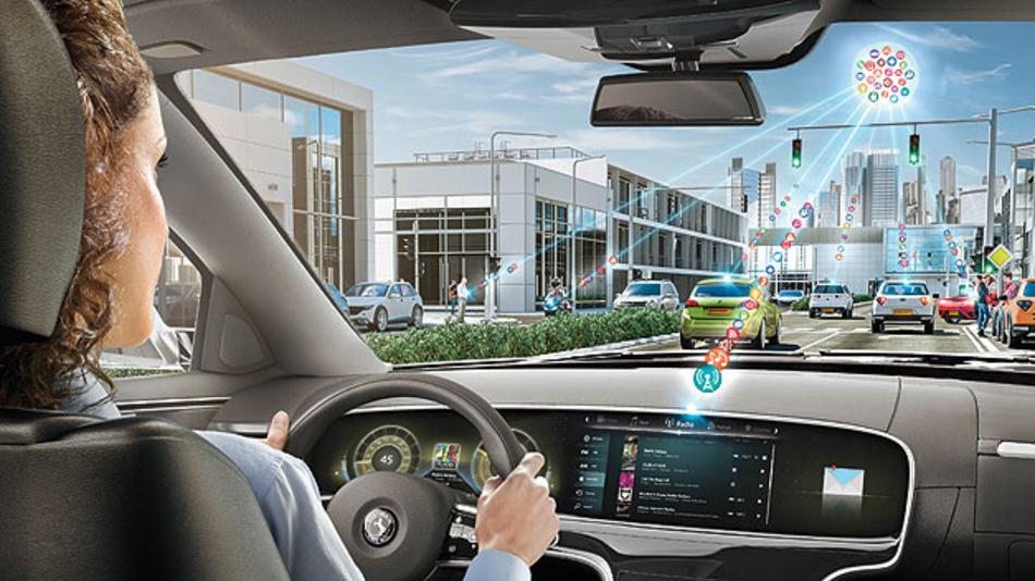 Flexible Systemarchitektur für eine dynamische Konfiguration der Kommunikationsnetzwerke und stets im Einklang mit dem gesamten Fahrzeugssystem.