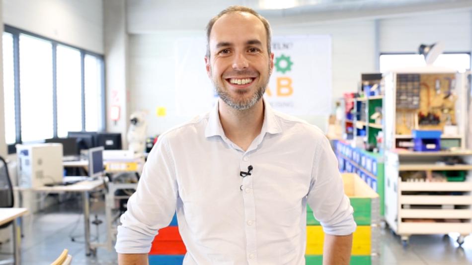 Mario Mlynek, Systems Engineer und Mitglied im Hackathon-Team bei TI.