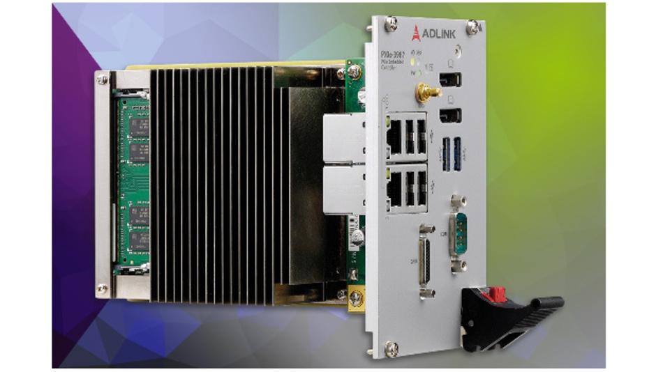 Der PXIe-3987 von Adlink erlaubt die schnelle Analyse und Verarbeitung von Daten.