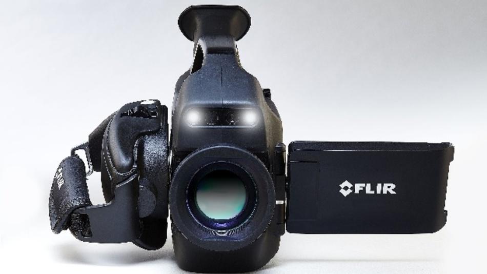 Vierfache Pixelanzahl gegenüber den Vorgängermodellen: die Flir GF620