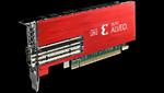 Energiesparende Beschleunigerkarte für PCIe-Server-Slots
