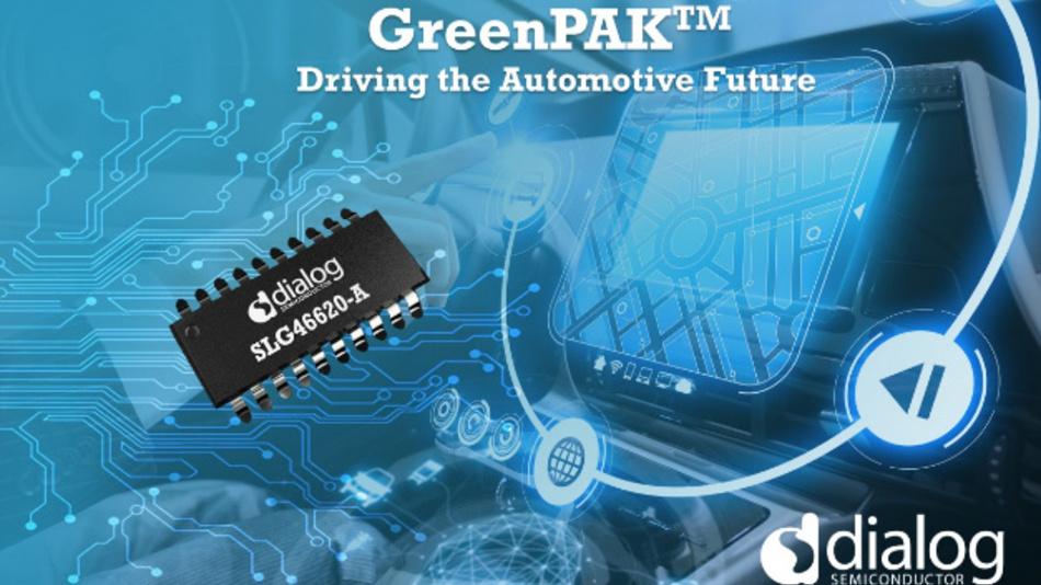 Das erste konfigurierbare Mixed-Signal-IC (CMIC) für die Automobilindustrie.
