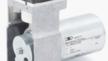 Die Pendelkolbenpumpe NPK 012 eigent sich vor allem für Handgeräte, die nah beim Paitneten zum Einsatz kommen.
