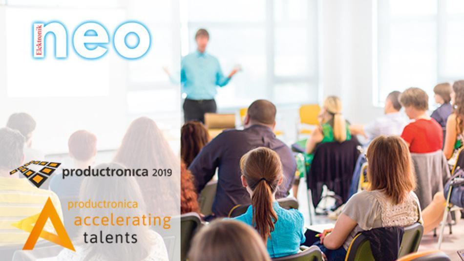 Am 12. November startet die Productronica 2019 und unterstützt Euch bei der Karriereplanung.