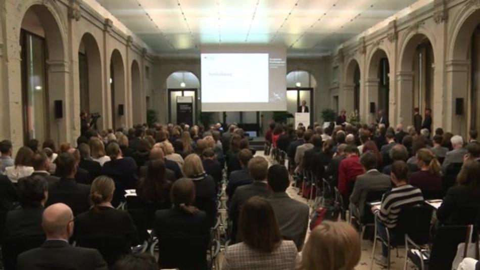Konferenz zum Europäischen Forschungsraum  des Bundesministeriums für Bildung und Forschung.