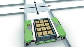 Behälter-Shuttle MCrossDrives 3D von Kardex Group