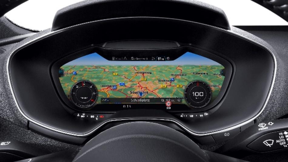 Dank Bosch ging das erste frei programmierbare Display vor rund fünf Jahren im Audi TT in Serie.
