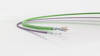 Kleiner Durchmesser, niedrige Kosten: Single-Pair-Datenleitungen sind für viele IoT-Anwendungen in der vernetzten Fabrik die bessere Wahl.
