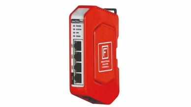 Ads-Tec kombiniert mit dem IRF1000 Smartcard-Security mit dem Hutschienen-Formfaktor.