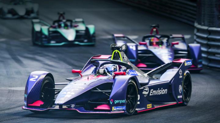 Formel-E-Rennen in Monaco.