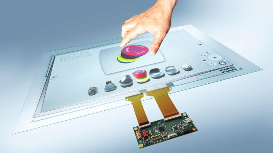 Mit seinem »Glasscape«-Programm zählt sich Rafi zu den führenden Herstellern und Anbietern industrietauglicher PCAP-Touchscreens.