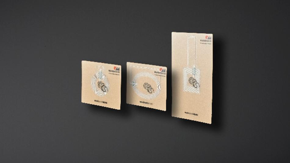 NFC-Siegel von Kundisch sind in mehreren Formen erhältlich.