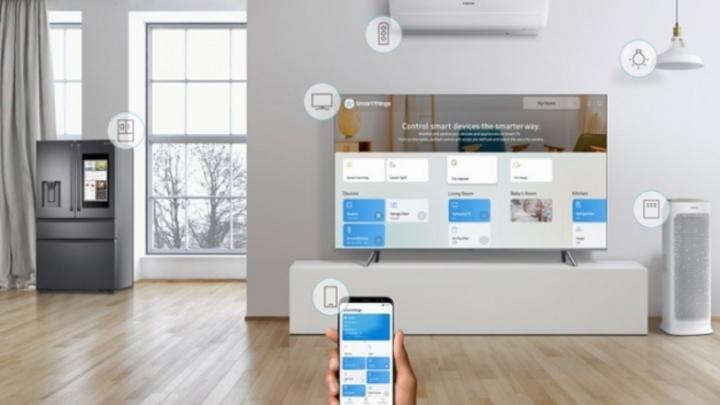 """Mithilfe der """"SmartThings App"""" sind Verbraucher in der Lage, ihren Haushalt reibungslos am Laufenden zu halten."""