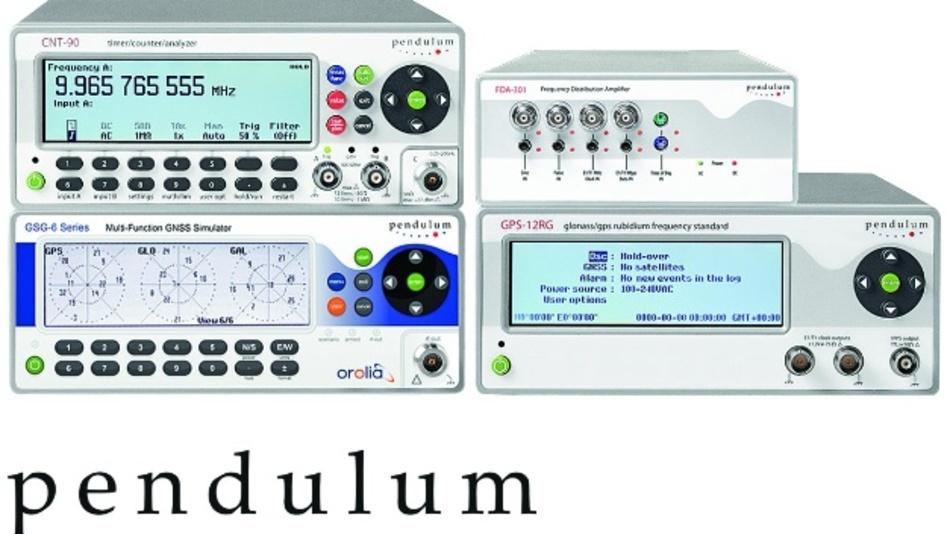 Geräteportfolio von Pendulum-Instruments