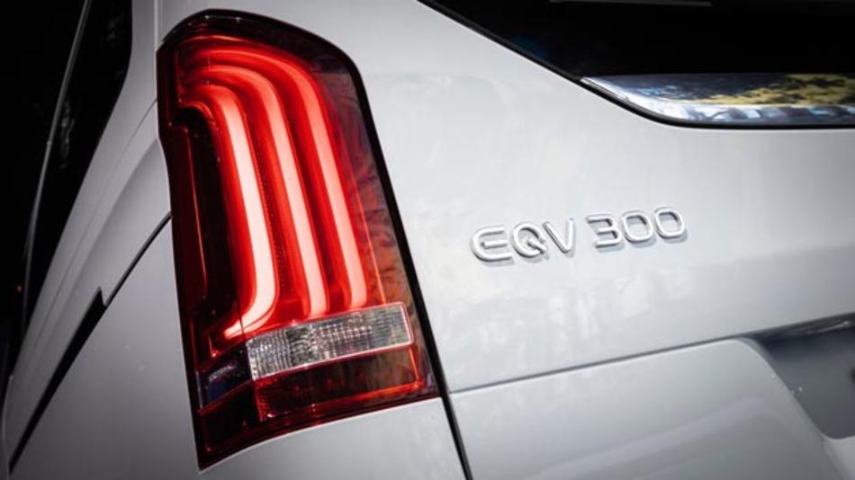 Auf der IAA 2019 wird der Mercedes-Benz EQV erstmals offiziell vorgestellt.