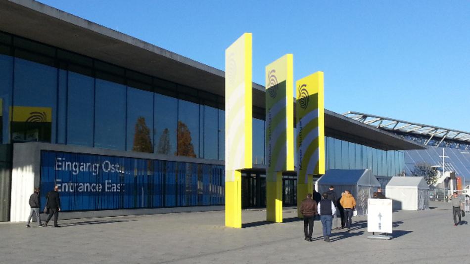 Das ICS International Congress Center Stuttgart ist an das neue Messegelände am Flughafen angeschlossen.