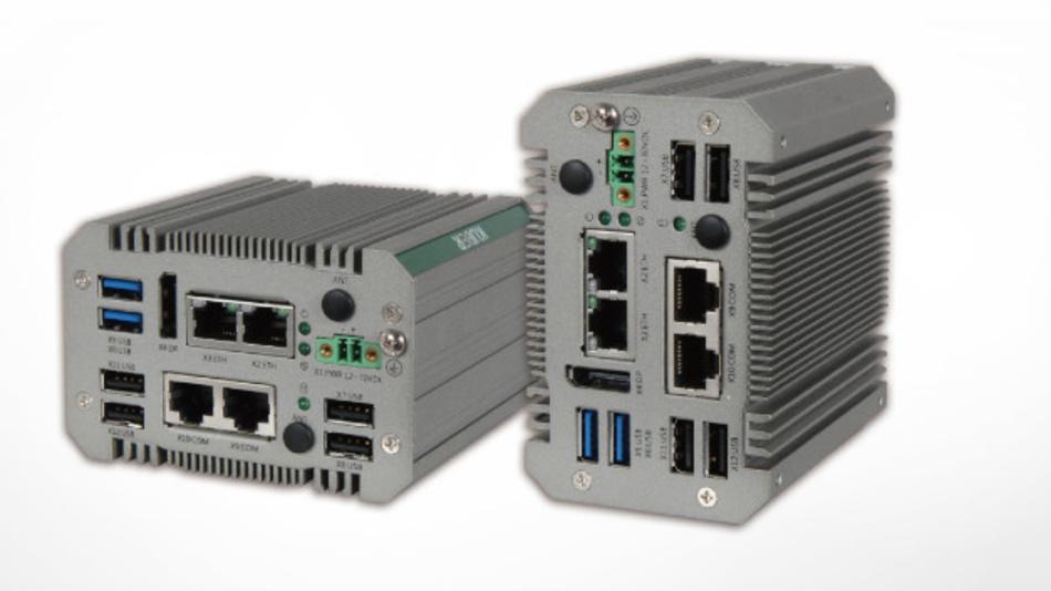 Der lüfterlose Industrie-PC Kuber-212G von Portwell eignet sich für den Einsatz in Automatisierungsanwendungen.