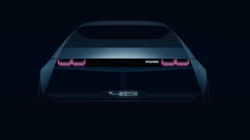 Im September enthüllt Hyundai auf der IAA seine Elektrokonzeptstudie 45.