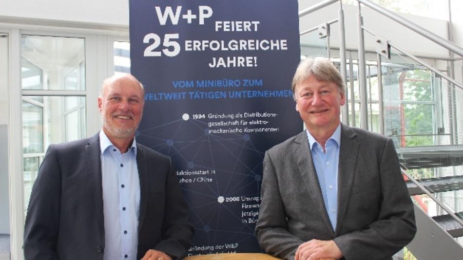 Michael Rullkötter (links) und Jürgen Weber von W+P Products.