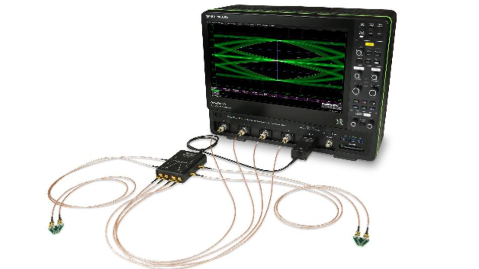 Das »Auto ENET Debug Toolkit« von Teledyne LeCroy erweitert ein Oszilloskop um Funktionen zum Konformitätstest für Automotive Ethernet.