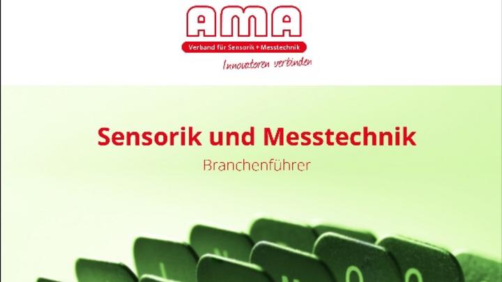 Kostenlos verfügbar: Der AMA Branchenführer Sensorik und Messtechnik 2019/20
