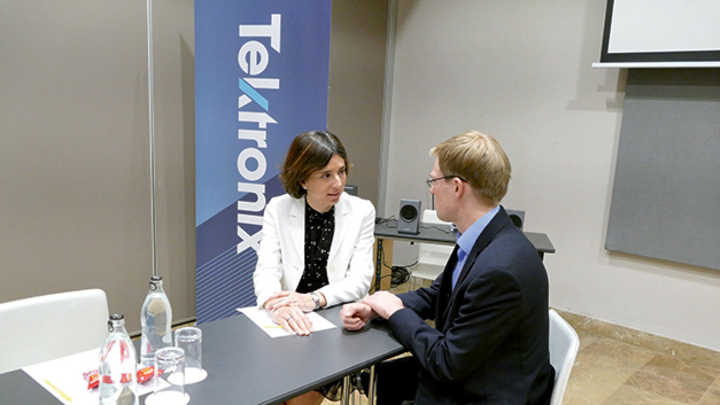 Interview mit Maria Heriz Vice President EMEA bei Tektronix