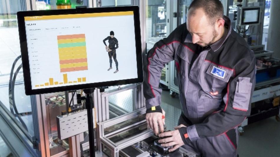 Body-Tracking mit Hilfe eines Sensoranzugs