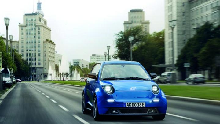 Gemeinsam mit e.GO Mobile entwickelte Automobilzulieferer Hella das Scheinwerferkonzept für den e.GO Life.