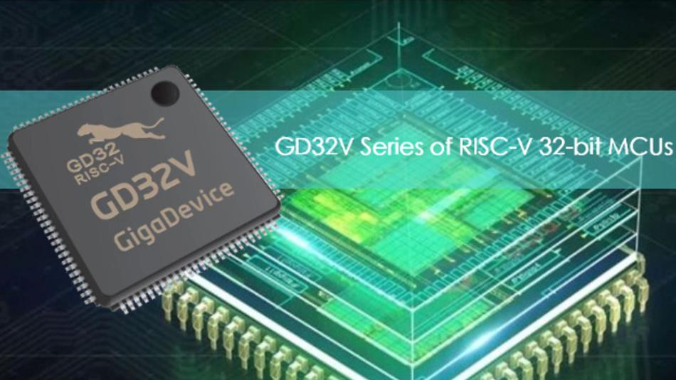Die neuen RISC-V-Mikrocontroller von GigaDevice GD32V.