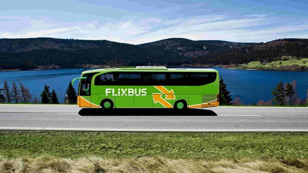 FlixBus plans the first European long-distance bus with fuel cell drive.