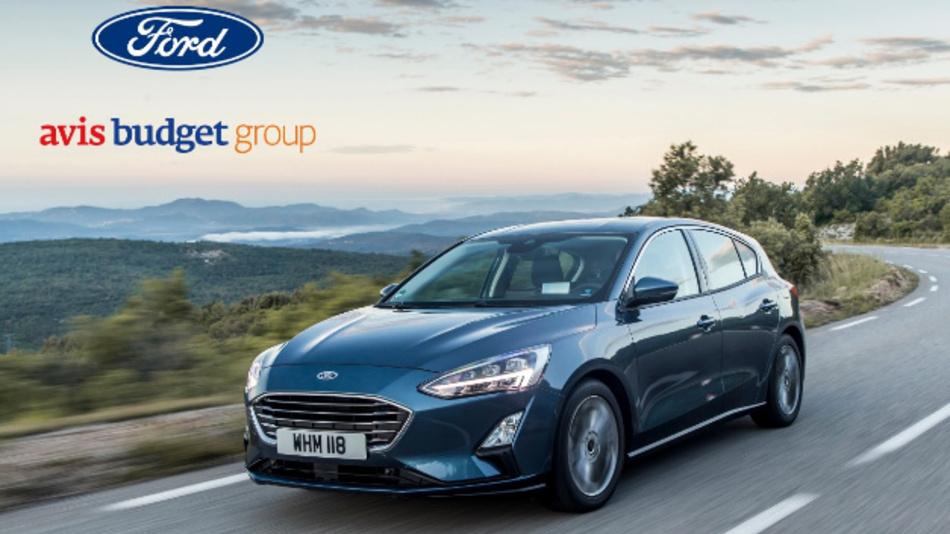 Avis Budget und Ford arbeiten in Europa gemeinsam an digital vernetzten Fahrzeugen für einen besseren Vermietungs-Service.