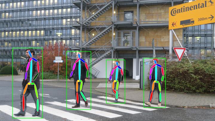Die frühzeitige Erkennung und der Schutz von schwächeren Verkehrsteilnehmern sind wichtige Anwendungen für künstliche Intelligenz in den Fahrzeugen der Zukunft. Daher investiert Continental in das Startup Cartica AI im Bereich künstliche Intelligenz.