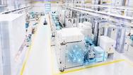 Produktionshalle, Industrie 4.0