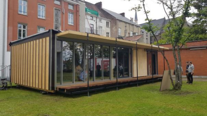 Modulares Minihaus Mobble der Universität Gent