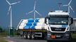 Im Hamburger Hafen soll nach den Plänen des Senats die weltweit größte Wasserstoff-Elektrolyse mit einer Leistung von 100 MW gebaut werden. Hier ein Wasserstofftankfahrzeug im Energie Park Mainz, wo eine »Power-to-Gas«-Anlage arbeitet.