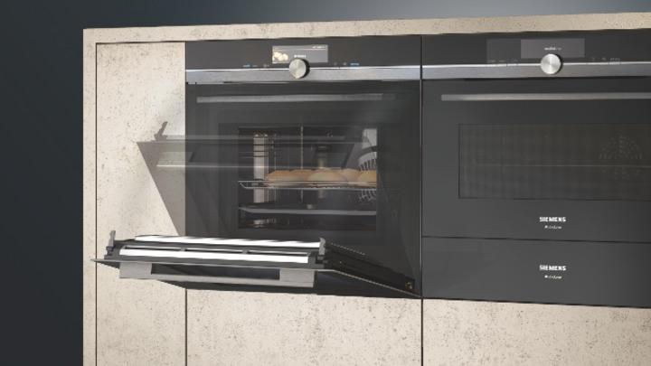 Eines der Siemens-Highlights der diesjährigen IFA: Der Backofen, der auf Sprachbefehl die Tür öffnet.