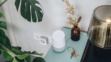 Dank der Integration der Google-Sprachsteuerung lassen sich die Bosch Smart Home-Funktionen ganz bequem via Sprachbefehl aktivieren.