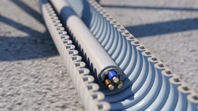 Elektroinstallation in Beton: das FFKuS-EM-F Highspeed