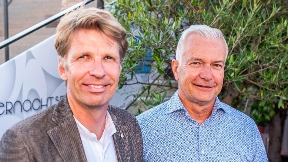 Manfred Garz (links) und Sven Ließ